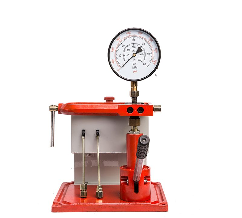 J1 diesel fuel injector nozzle tester