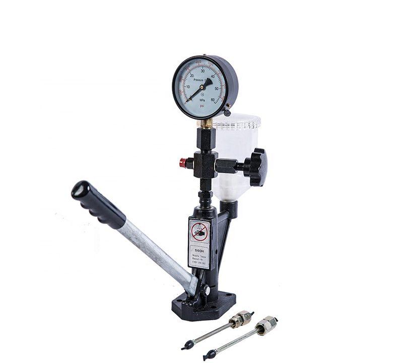 Diesel fuel injection pressure tester